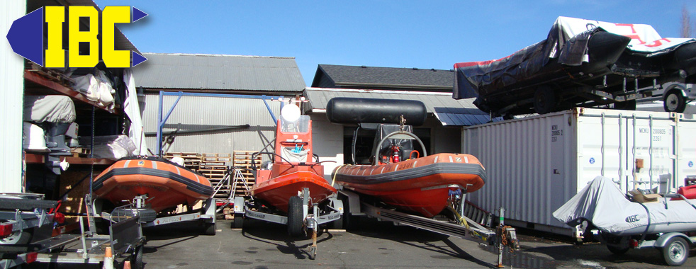 IBC's Boat Yard With Zodiac Hurricanes and Zodiac MK6HD Military and Professional Series Boats