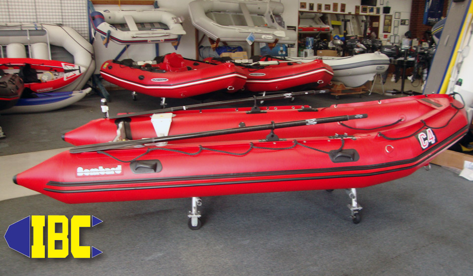 bombard commando c4 with cataract carbon oars 5