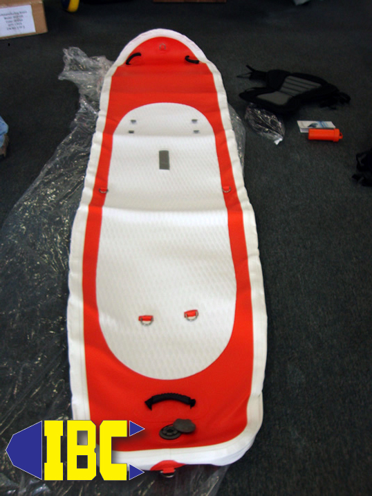 rescue isup board first look