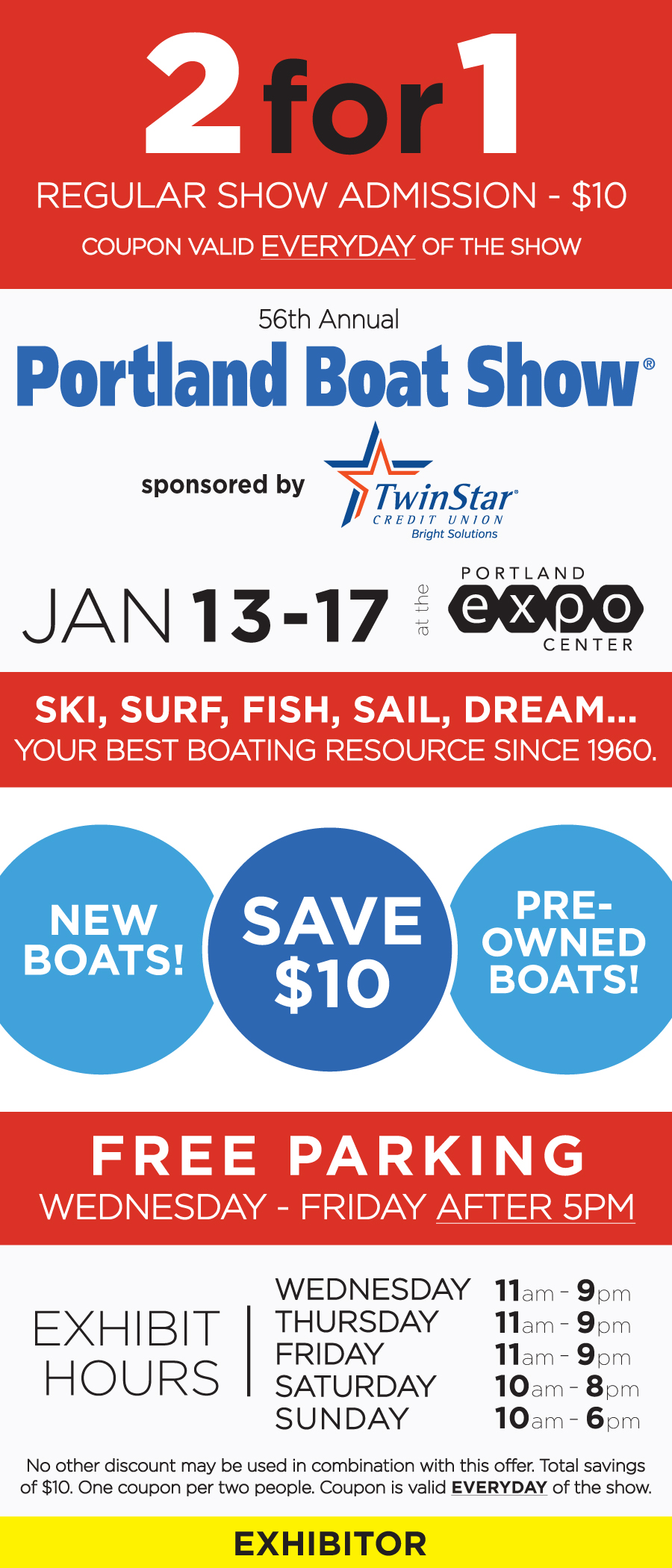 Providence boat show discount coupons