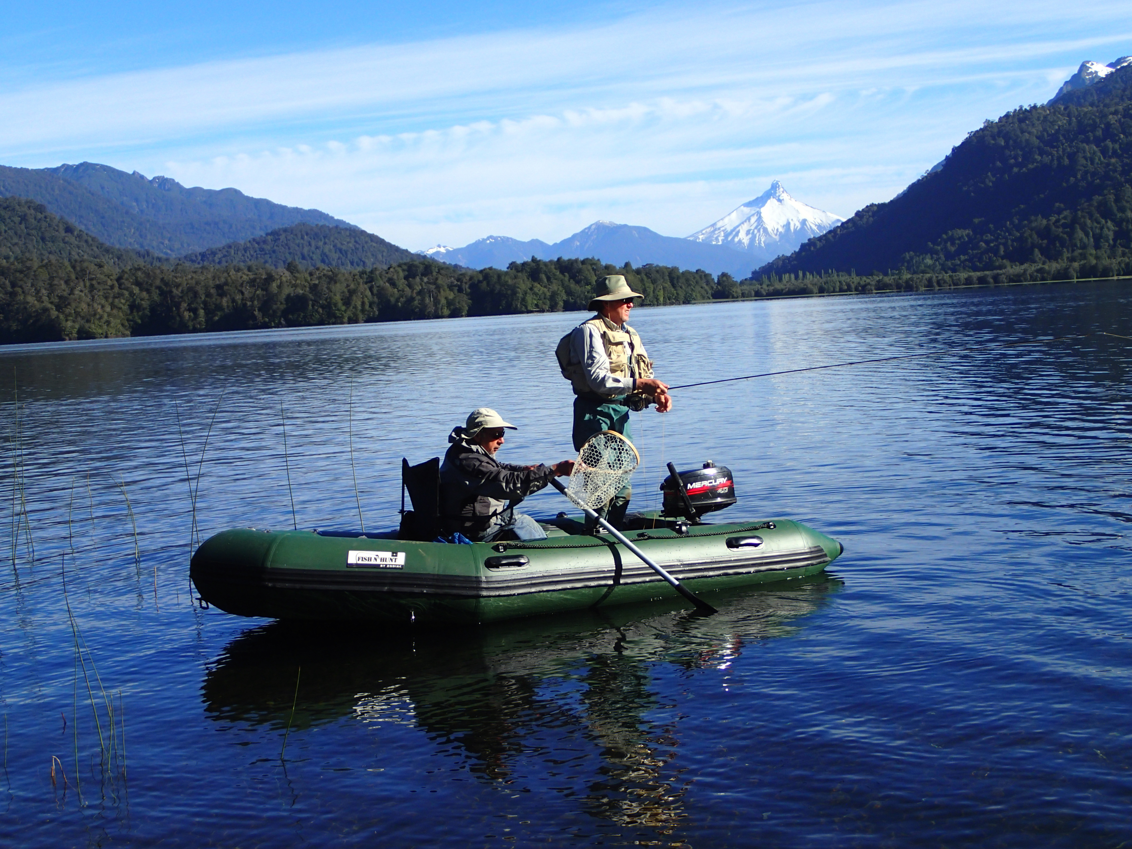 Fishing in patagonia inflatable boat center for Inflatable boats for fishing