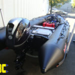 Tohatsu 50Hp takes care of the Bombard Commando C5's need for speed