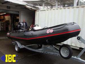 Bombard Commando C-5 50HP + Mini Console + Trailer Package